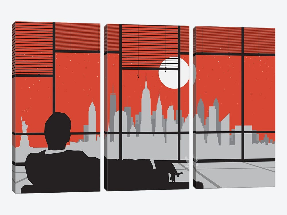 Mad New York by SKYWORLDPROJECT 3-piece Art Print
