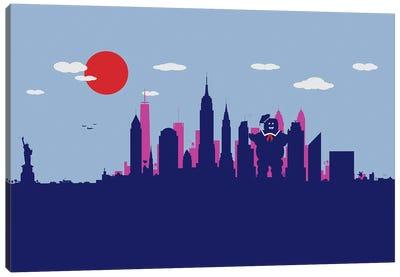 New York Sweet Monster Canvas Art Print