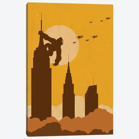 Big Apple's King Canvas Print #SKW92} by SKYWORLDPROJECT Canvas Wall Art