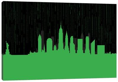New York code Canvas Art Print