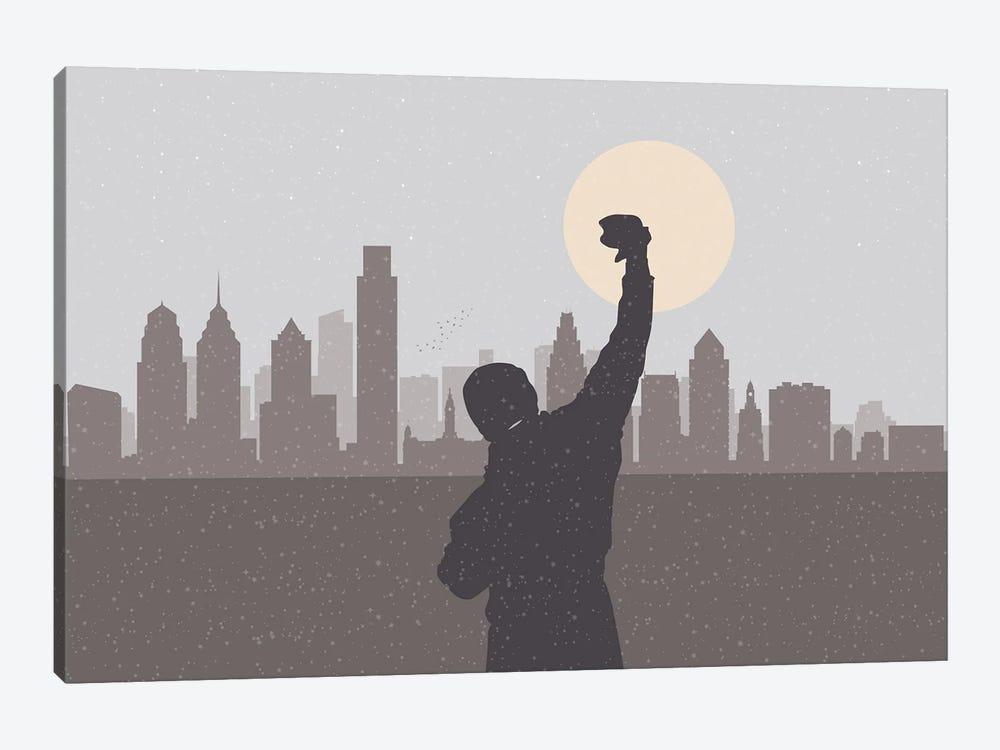 Philadelphia Hero by SKYWORLDPROJECT 1-piece Canvas Art Print