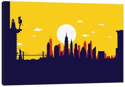 New York Wonder Protector Canvas Art Print