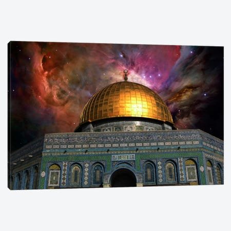 Jerusalem Orion Nebula Skyline Canvas Print #SKY40} by 5by5collective Canvas Art Print