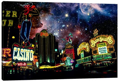 Las Vegas, Nevada Carina Nebula Skyline Canvas Print #SKY42