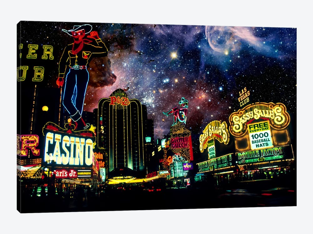 Las Vegas, Nevada Carina Nebula Skyline by 5by5collective 1-piece Canvas Artwork