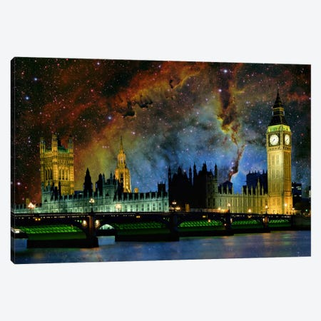 London, England Elephant's Trunk Nebula Skyline Canvas Print #SKY43} by 5by5collective Canvas Art Print