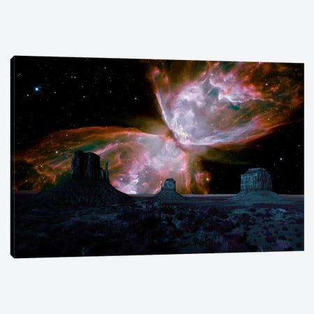 Phoenix, Arizona Butterfly Nebula Skyline Canvas Print #SKY54} by 5by5collective Art Print