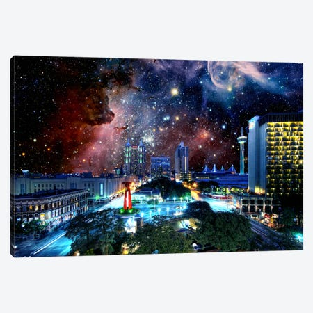 San Antonio, Texas Carina Nebula Skyline Canvas Print #SKY58} by iCanvas Canvas Art