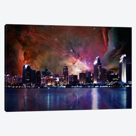 San Diego, California Orion Nebula Skyline Canvas Print #SKY59} by 5by5collective Canvas Artwork