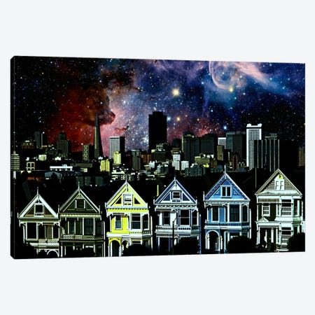 San Francisco, California Carina Nebula Skyline Canvas Print #SKY60} by 5by5collective Canvas Art Print
