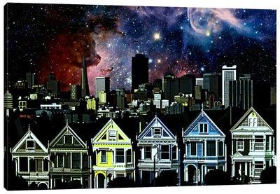 San Francisco, California Carina Nebula Skyline Canvas Print #SKY60