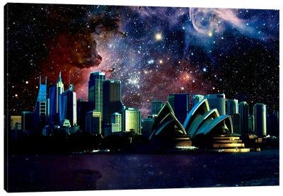 Sydney, Australia Carina Nebula Skyline Canvas Print #SKY63