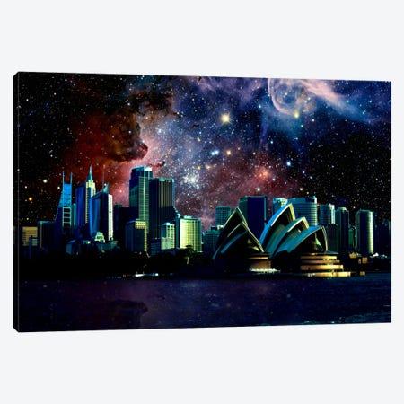 Sydney, Australia Carina Nebula Skyline Canvas Print #SKY63} by 5by5collective Canvas Art Print