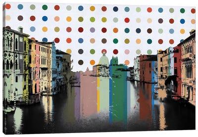 Venice, Italy Spot Painting Canvas Print #SKY98