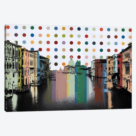 Venice, Italy Spot Painting Canvas Print #SKY98} by Unknown Artist Canvas Art