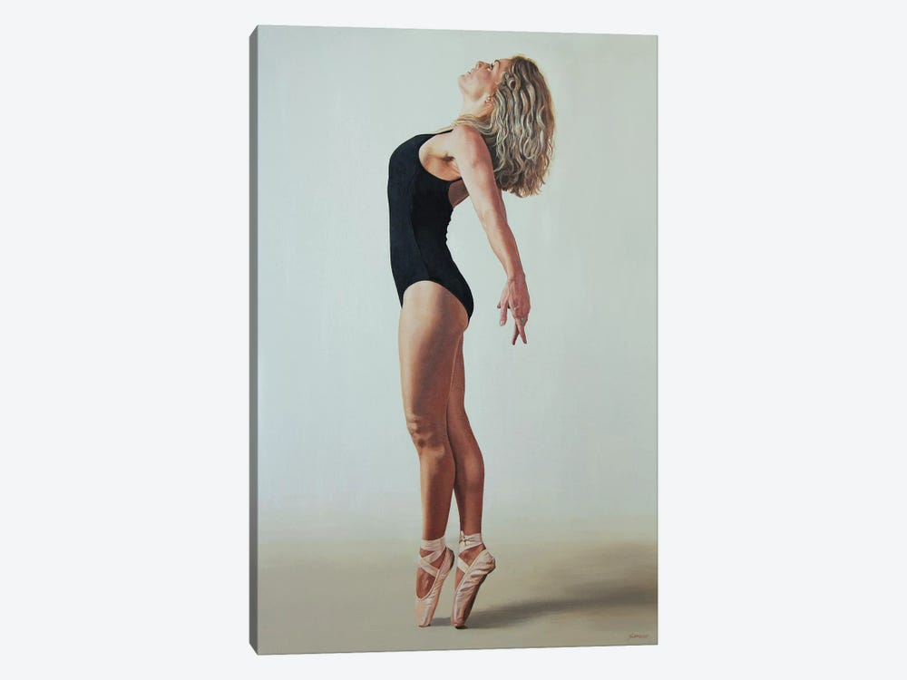 Pose 27 by Sally Lancaster 1-piece Canvas Wall Art
