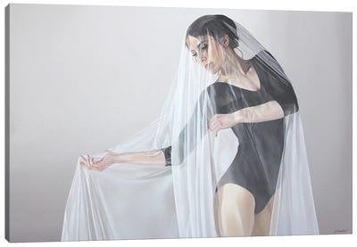 Delicate Grace Canvas Art Print