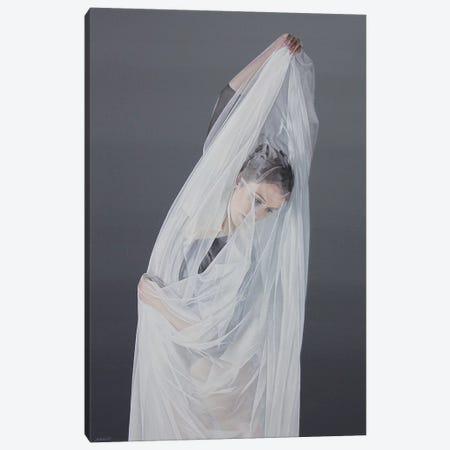 Shrouded Beauty Canvas Print #SLA40} by Sally Lancaster Canvas Artwork