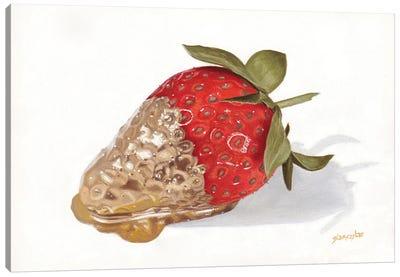 Strawberries Of Gold II Canvas Art Print