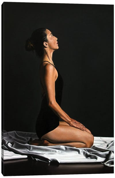 Divine Calmness Canvas Art Print