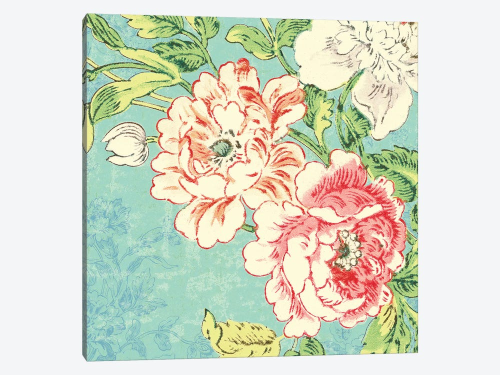 Cottage Roses V Bright by Sue Schlabach 1-piece Art Print