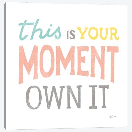 This Moment Canvas Print #SLB116} by Sue Schlabach Canvas Art Print