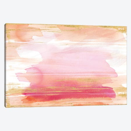 A Rosy View Canvas Print #SLB117} by Sue Schlabach Canvas Print