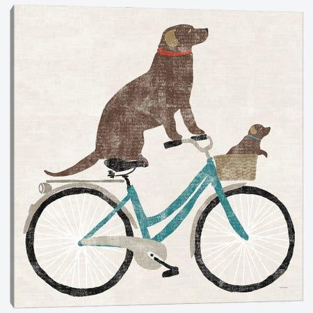 Lab Ride Canvas Print #SLB124} by Sue Schlabach Canvas Wall Art