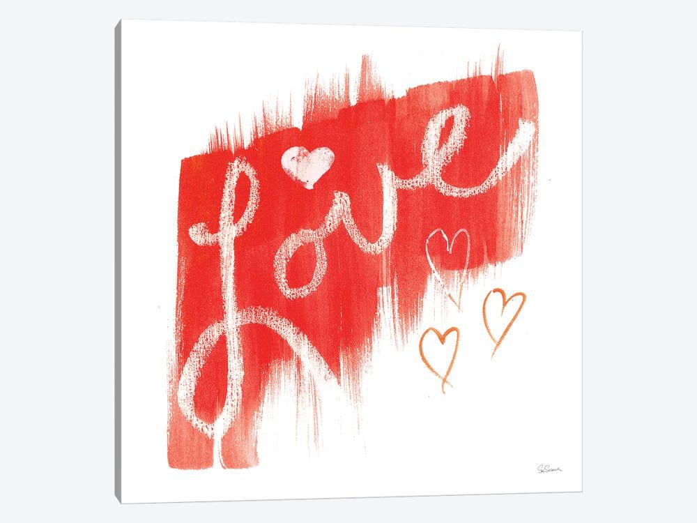 Painted Love by Sue Schlabach 1-piece Canvas Art