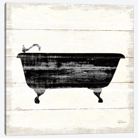 Shiplap Bath I Canvas Print #SLB29} by Sue Schlabach Canvas Art Print