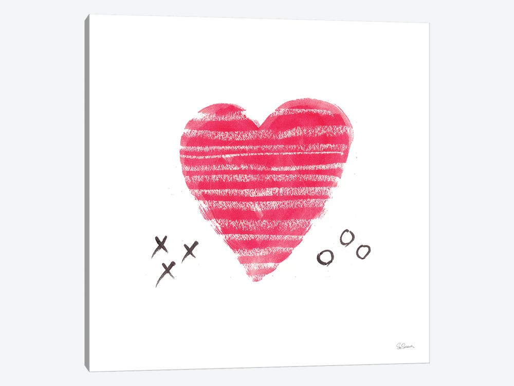 Xs and Os by Sue Schlabach 1-piece Art Print