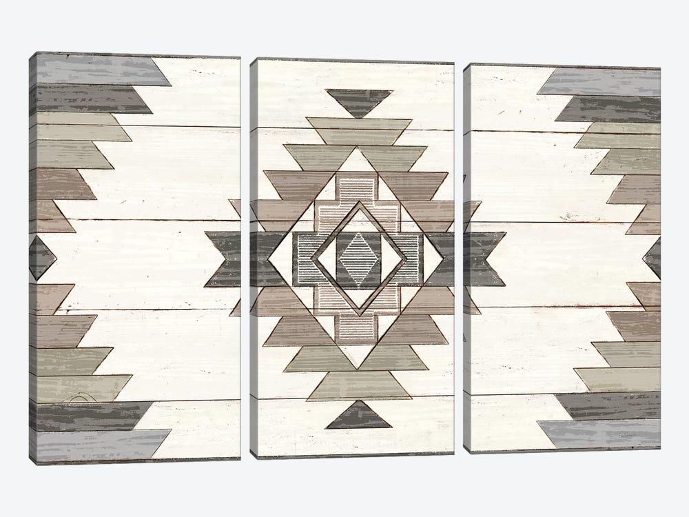 Cabin Life X Neutral by Sue Schlabach 3-piece Canvas Art