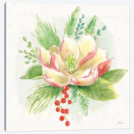 Winter Blooms V Canvas Print #SLB54} by Sue Schlabach Canvas Print