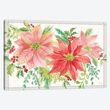 Winter Blooms VI Canvas Print #SLB55} by Sue Schlabach Art Print