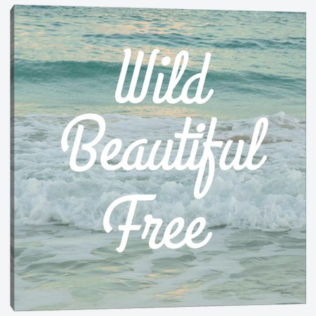 Wild Beautiful Free Canvas Print #SLB6} by Sue Schlabach Canvas Print