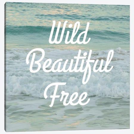 Wild Beautiful Free Canvas Print #SLB6} by Sue Schlabach Canvas Print