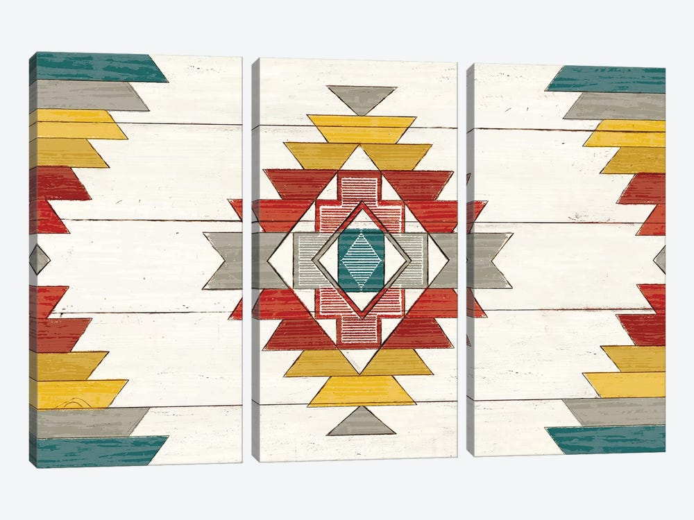 Cabin Life X Neutral v2 by Sue Schlabach 3-piece Art Print