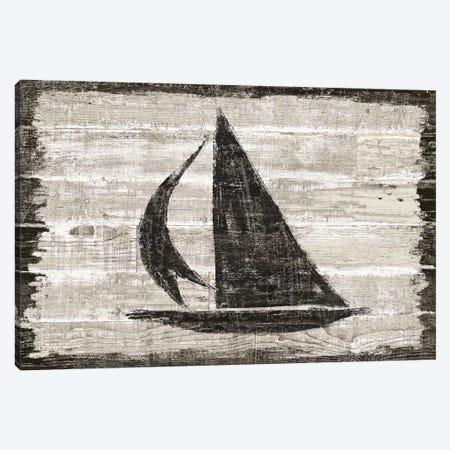 Driftwood Coast II Canvas Print #SLB82} by Sue Schlabach Art Print
