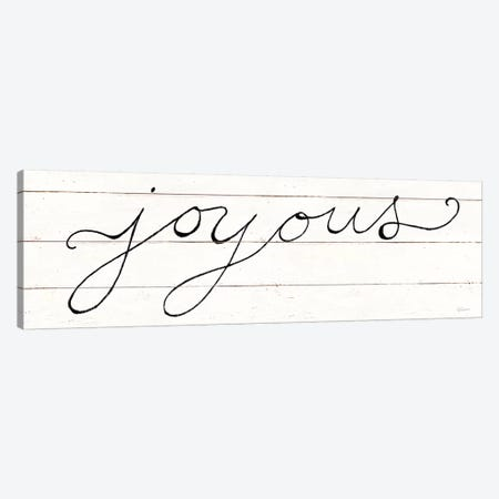 Joyous Canvas Print #SLB89} by Sue Schlabach Canvas Print