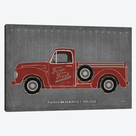 Farm Truck Canvas Print #SLB92} by Sue Schlabach Canvas Wall Art