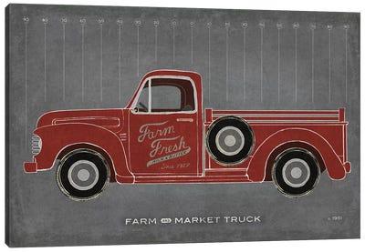 Farm Truck Canvas Art Print