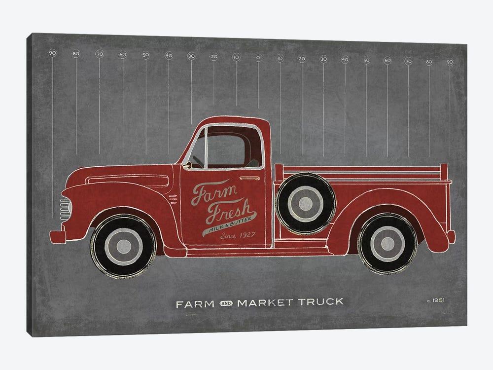 Farm Truck by Sue Schlabach 1-piece Art Print