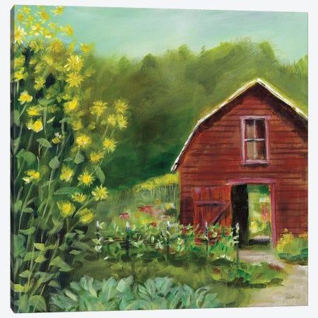 Kelly Way Barn Canvas Print #SLB96} by Sue Schlabach Canvas Art Print