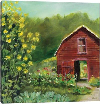 Kelly Way Barn Canvas Art Print