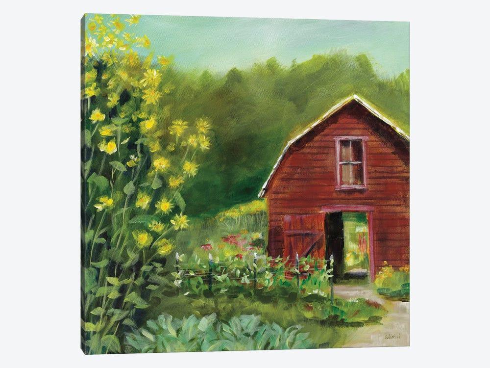 Kelly Way Barn by Sue Schlabach 1-piece Canvas Art Print