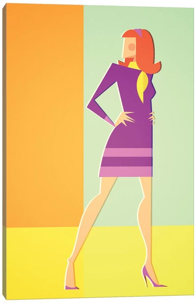 Daphne Canvas Art Print