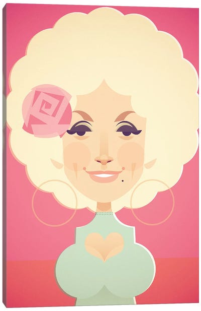 Dolly Canvas Art Print