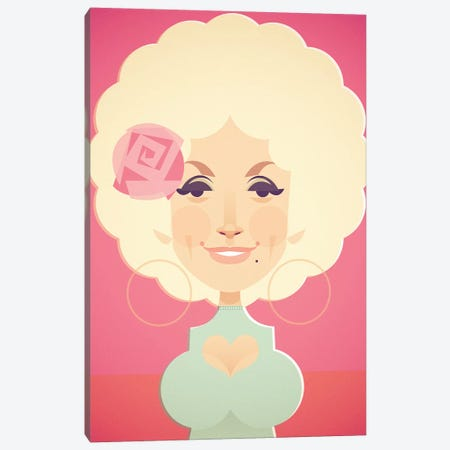Dolly Canvas Print #SLC13} by Stanley Chow Canvas Print
