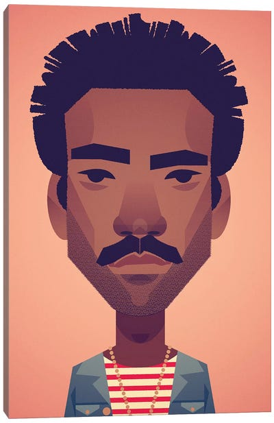 Donald Glover Canvas Art Print