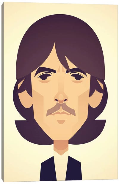 George Harrison Canvas Art Print